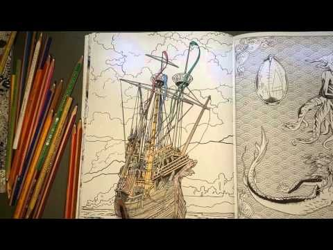 Harry Potter (coloring book) Ship | Adult Coloring - Artists ...