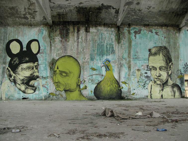 #streetart  Centina_Sea_Fresh_JamesKalindaMilano