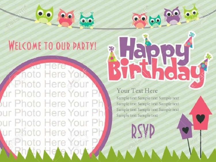 Vector Birthday Invitation Quotes In Bengali
