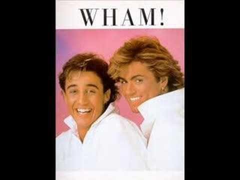 Wham Jitterbug Wake Me Up Before You Go Go 80s Music Singer Childhood Memories
