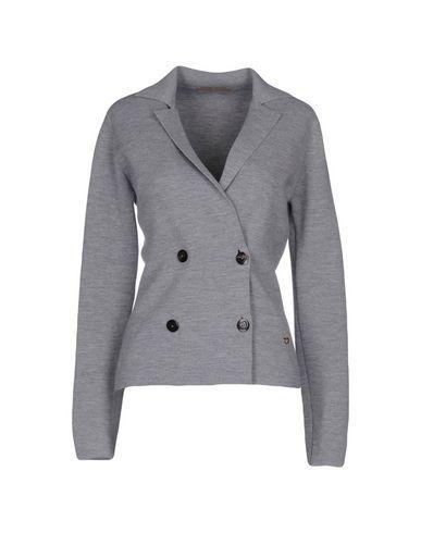CRUCIANI Women's Cardigan Grey 10 US