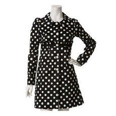 Cute polca dot can go quite tailored in black and white variation