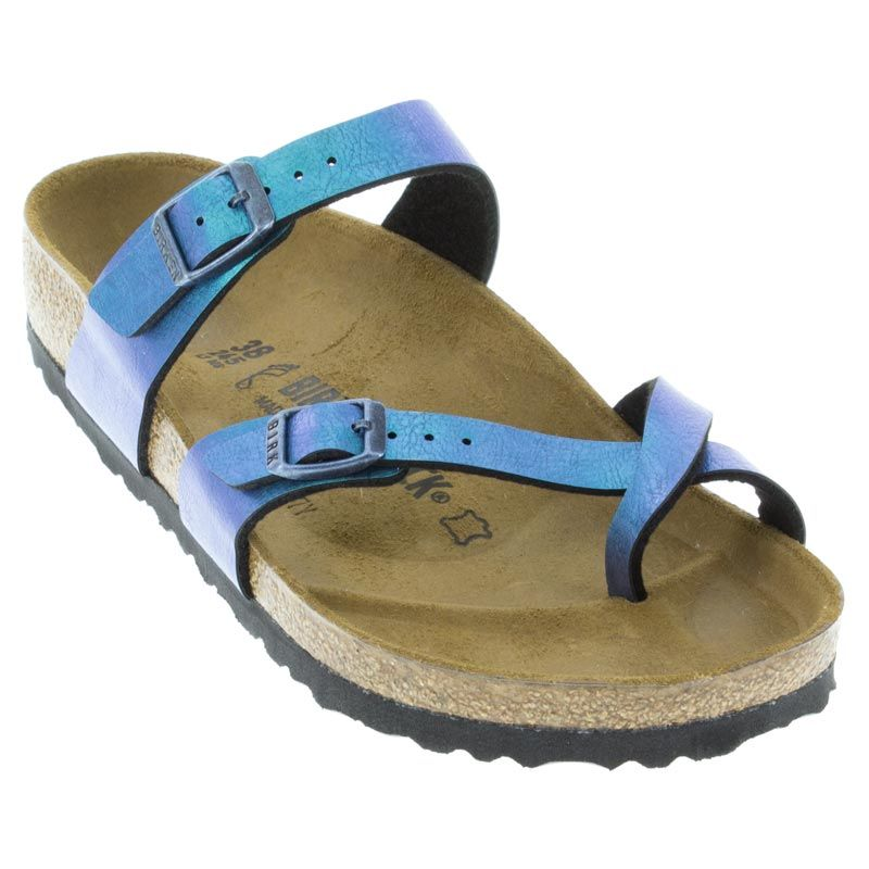 cebfa118c6c9 The classic footbed features suede contoured arch and metatarsal support