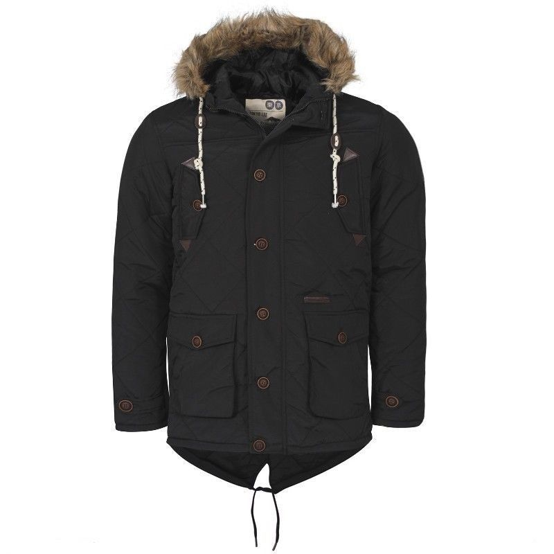 Details about Mens Tokyo Lee Branded Kennedy Winter Jacket