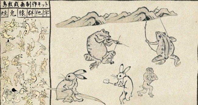 これは傑作!みんな大好き鳥獣戯画が自由に作れる「鳥獣戯画制作キット」が面白すぎる! – Japaaan 日本の文化と今をつなぐ