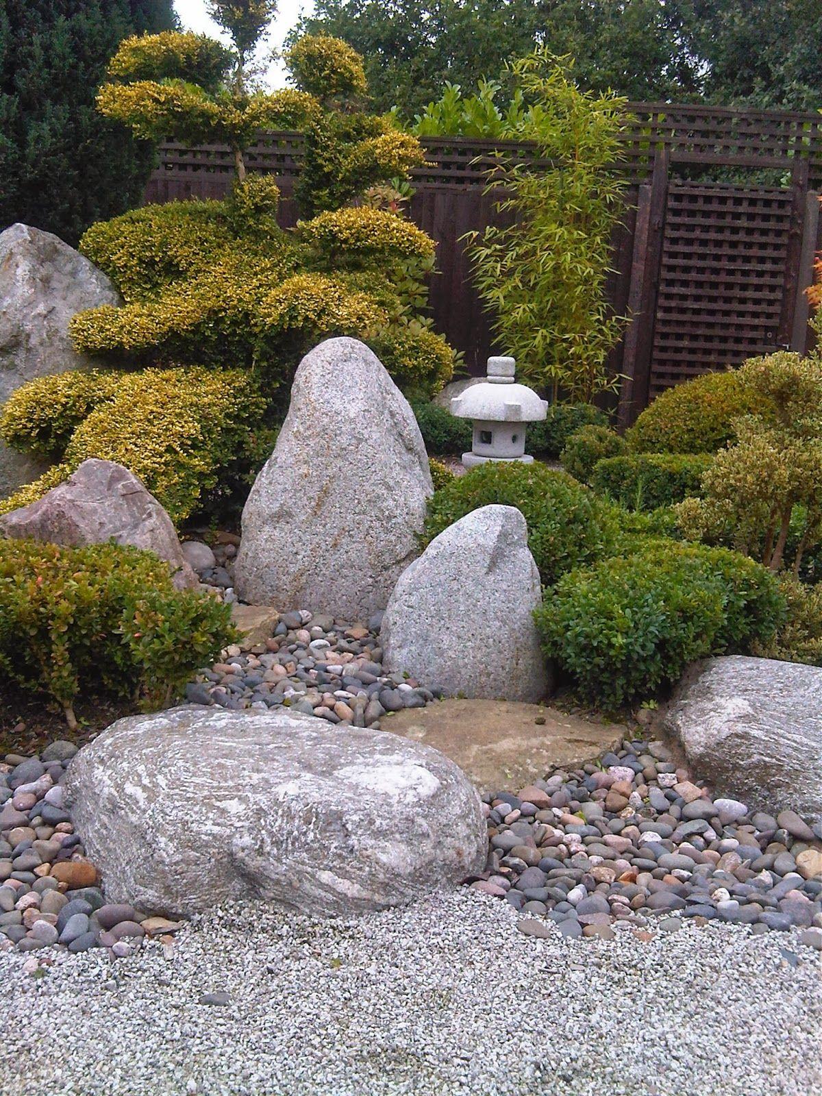 marvellous japanese zen rock garden design | Marvelous Japanese Courtyard Garden Plants and | Zen rock ...