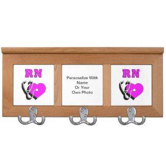 RN Nurses Care Coat Rack