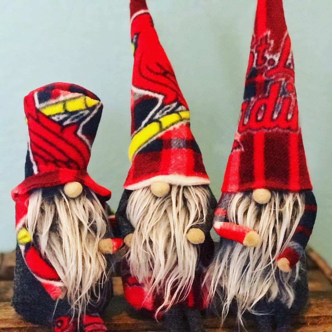 St Louis Cardinals Rally Gnomes Gnomes Gnome Gnomesofinstagram Hygge Hyggehome Sweatergnomes Gi St Louis Cardinals Cardinals St Louis Blues