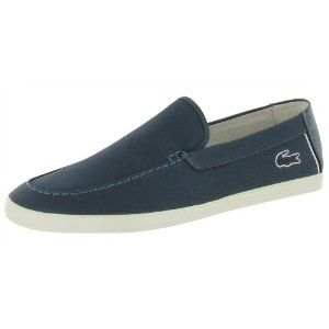 LACOSTE Harisson Slip On Moccasin Loafers Mens Shoes (Apparel) http://www