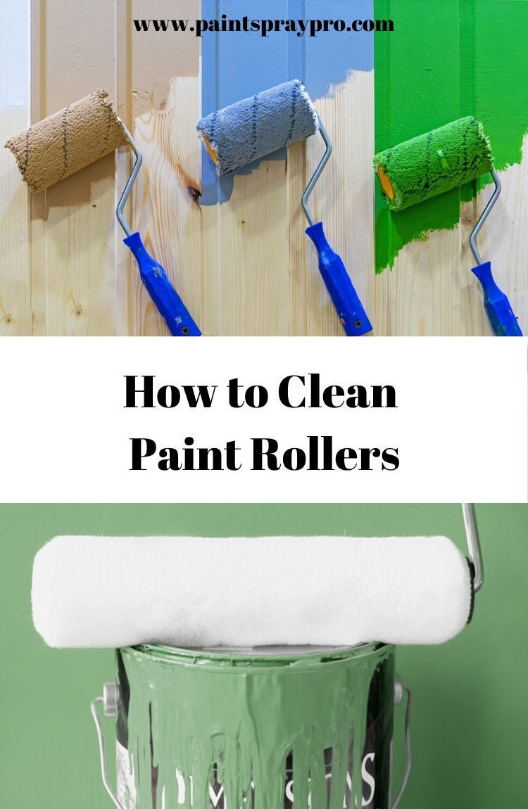 How to Clean Paint Brushes and Rollers in 2020 (With