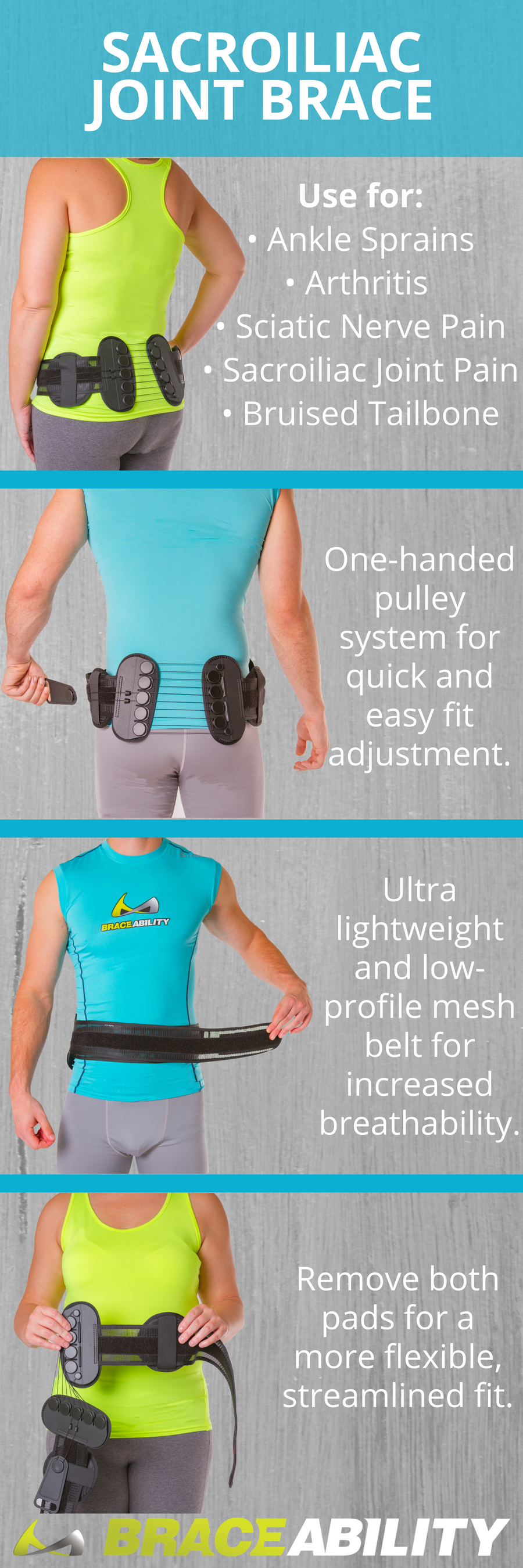 Pin On Back Pain Treatment Braces Belts Supports For Lower Middle Upper Back Pain Relief