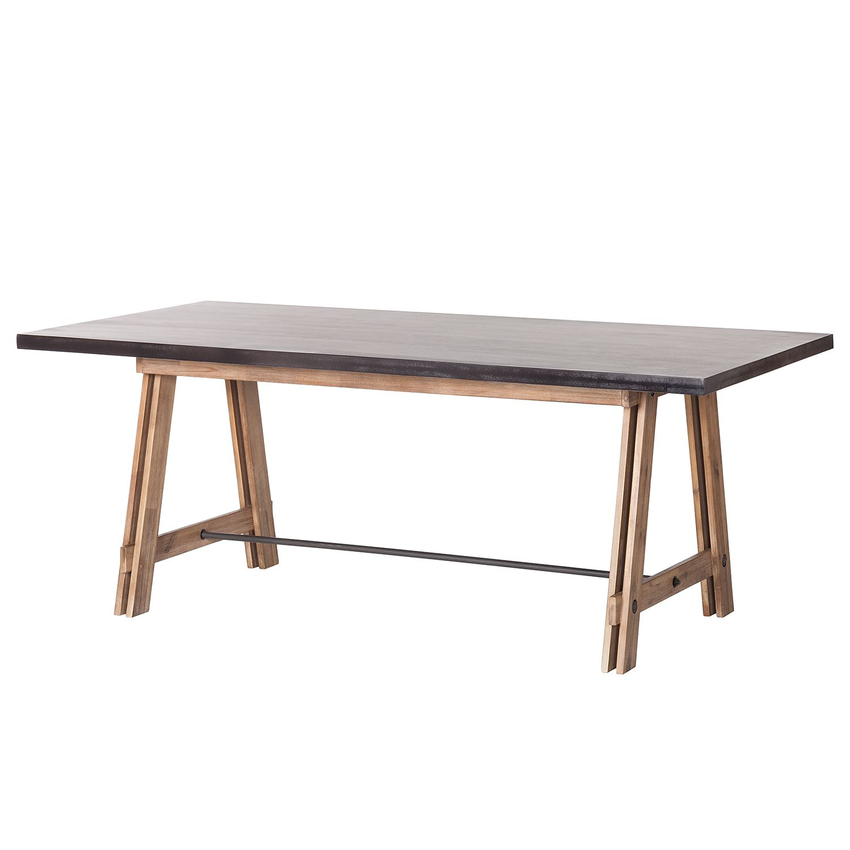 Esstisch Beton Akazie Teilmassiv Beton Dekor 200 X 100 Cm Ars Manufacti Esstisch Kuchentisch Und Stuhle Tisch