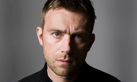 Damon Albarn of Blur and of The Gorillaz. Via Repin. One of my fave artist/band growing up in the 90s