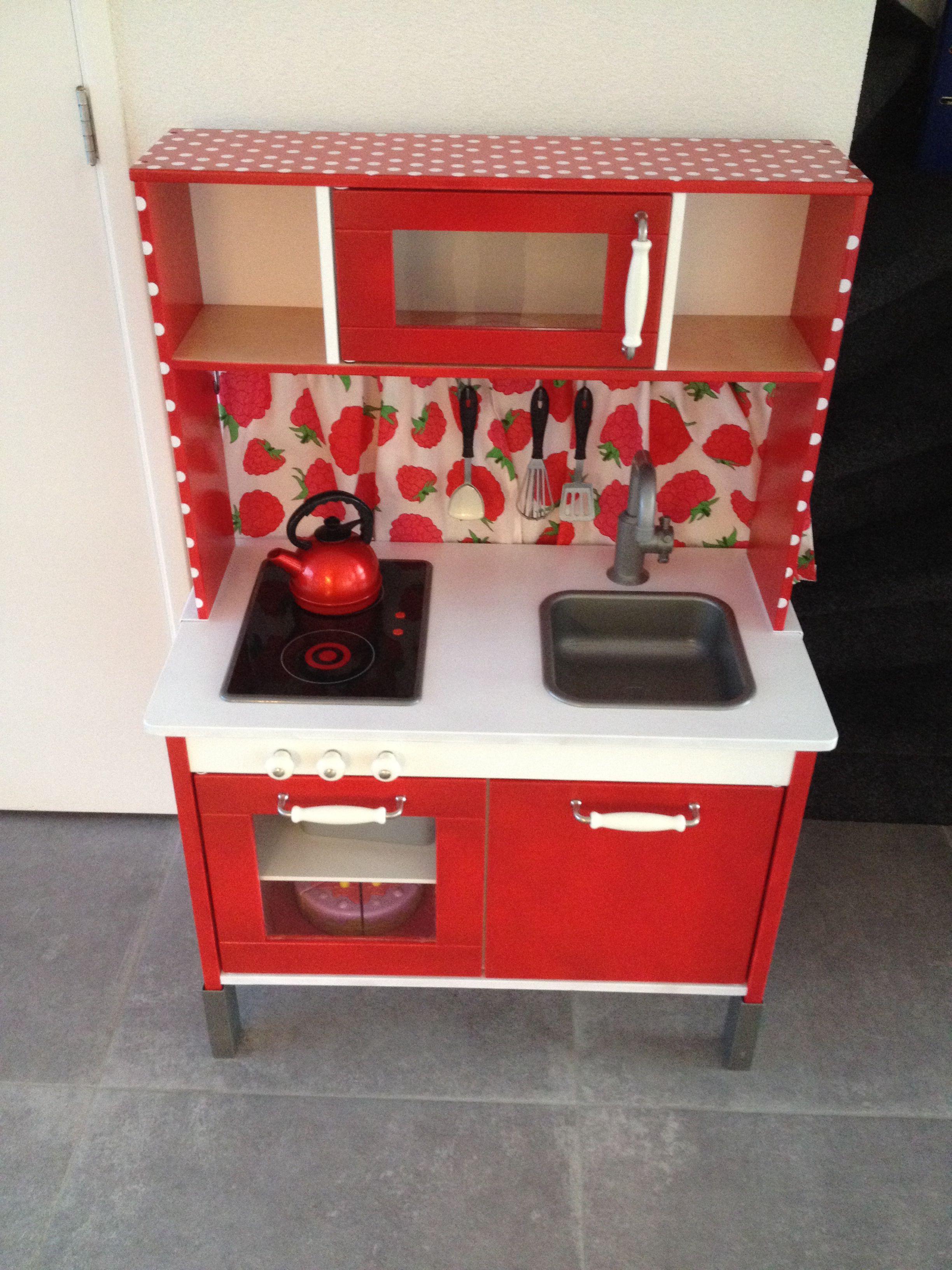 Ikea Duktig Hack Polkadot Spielkuche Ikea Kinderkuche Kinderkuche