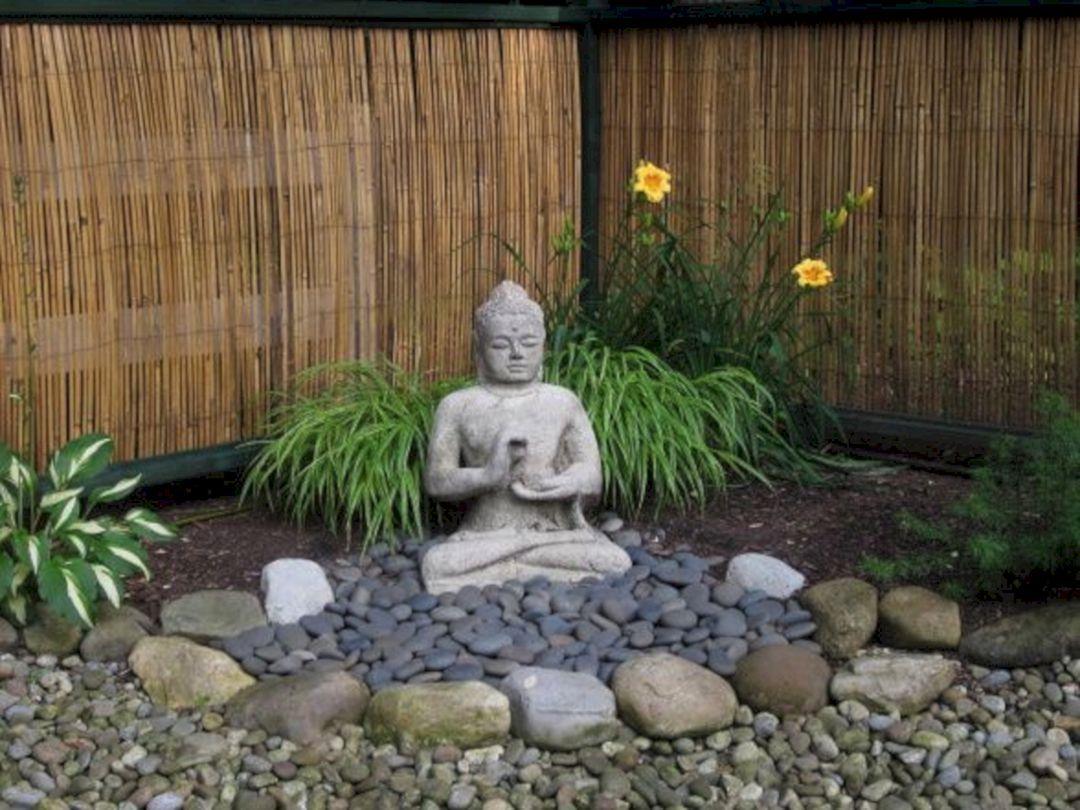 35 Awesome Buddha Garden Design Ideas For Calm Living Freshouz Com Zen Rock Garden Zen Garden Design Zen Garden