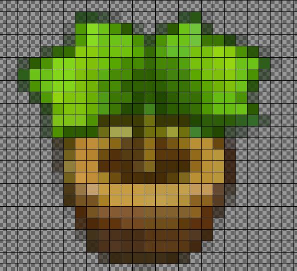 Imgur Animal Crossing Pixel Art Grid Perler Beads