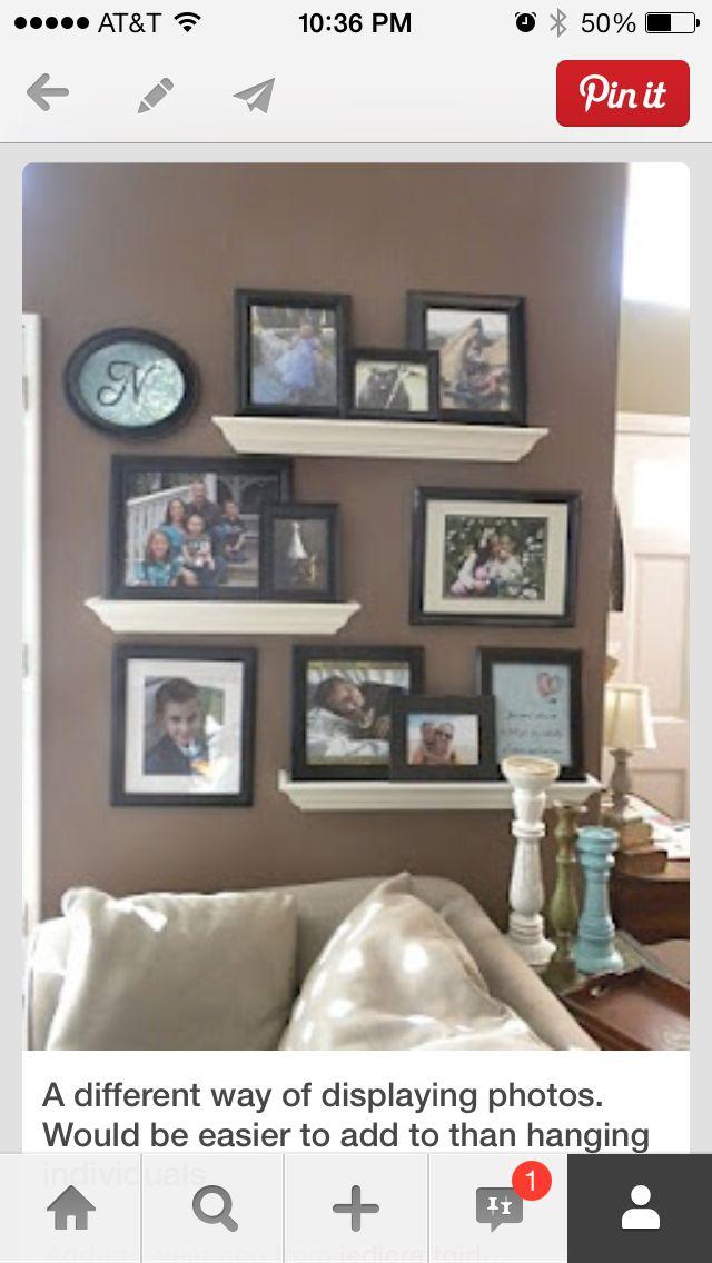 Hanging pictures | Remodel ideas | Pinterest | Decoración