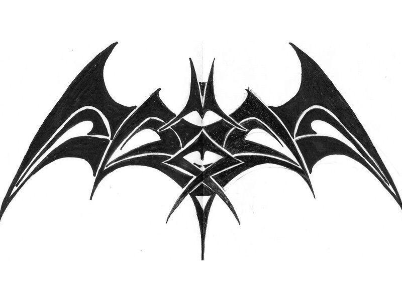 tribal batman tribal pinterest batman and tattoo. Black Bedroom Furniture Sets. Home Design Ideas