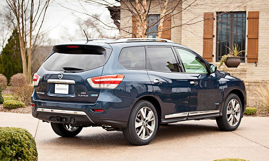 Nissan Pathfinder Hybrid Nissan Pathfinder Hybrid This