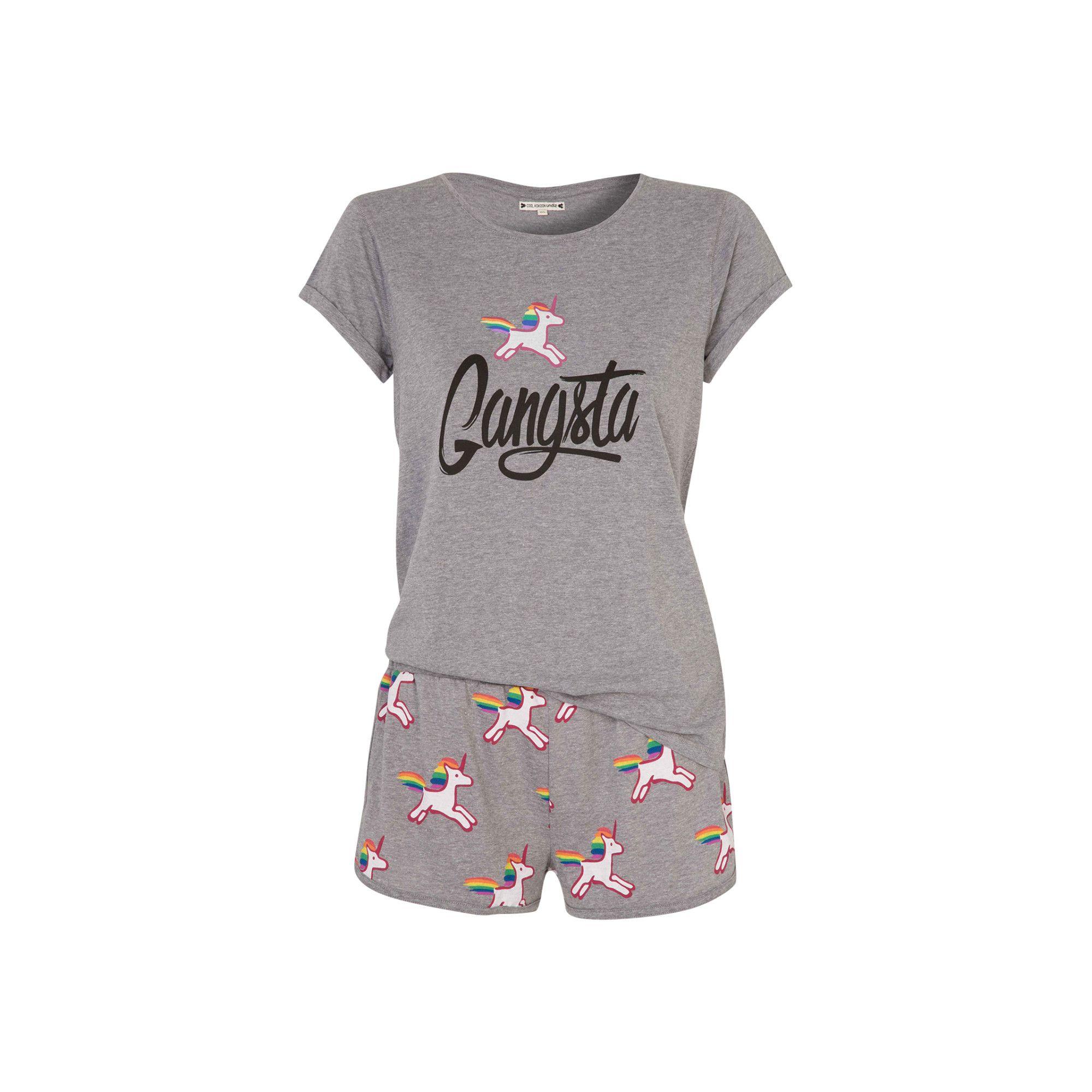 code promo 5d631 cafad Ensemble de pyjama gris licoriz | Ma Licorne|| | Cute ...