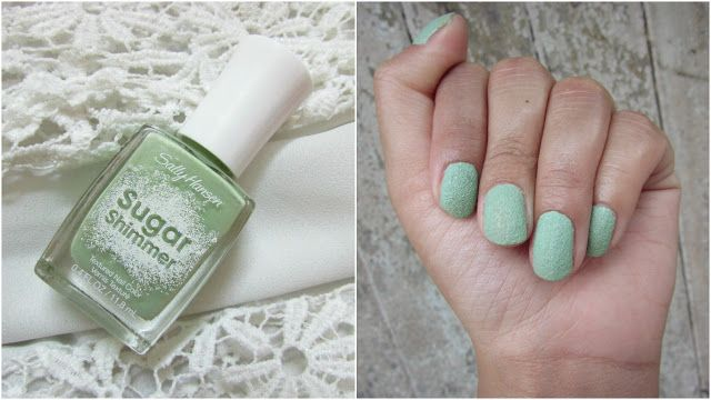 Sally Hansen Sugar Shimmer Nailpaint Price Review
