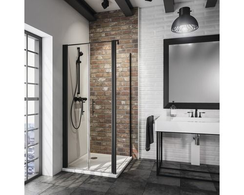 Duschtür mit Seitenwand Schulte Alexa Style 2.0 Breite 80