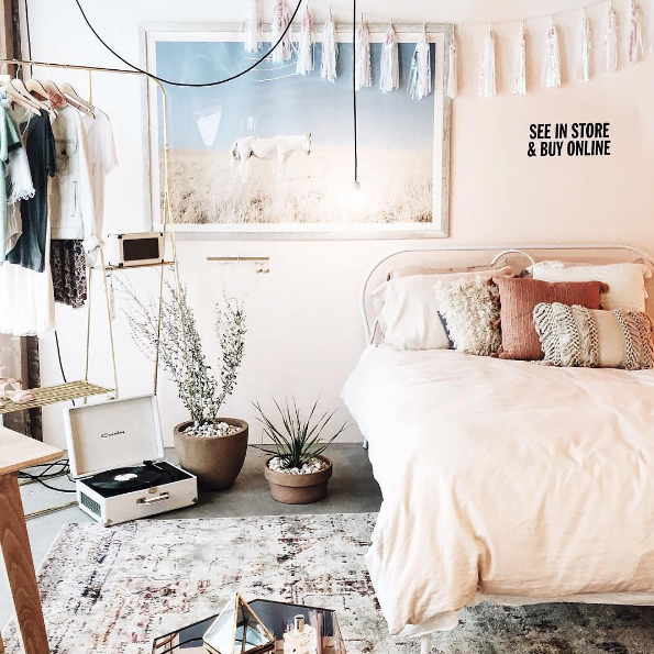 Urban Outfitters Bedroom Shop The Look Plum Bow Tassel Garland Banner Tessa Neustadt Hor Room Inspiration Urban Outfitters Bedroom Bedroom Inspirations