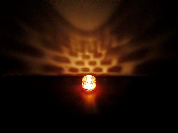Svícen z PET lahví | Moje mozkovna