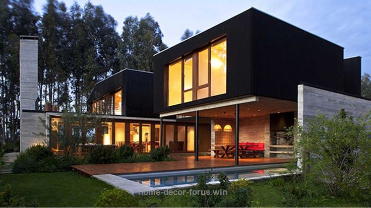 Architecture Large Size Modern Asian House Design With Drawing