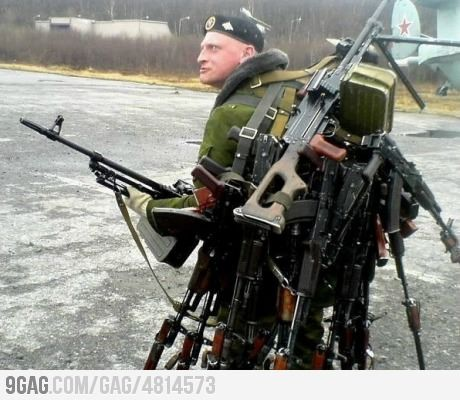 Hold on, let me switch to my sniper rifle!