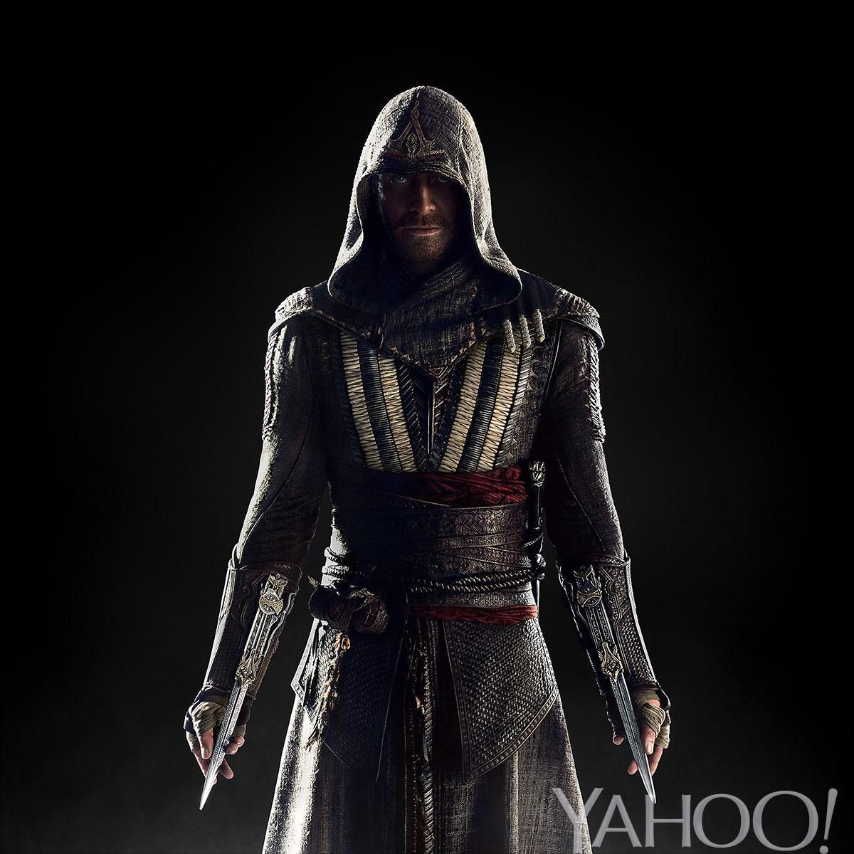Michael Fassbender sneak peek, from the upcoming Assassin's Creed movie!
