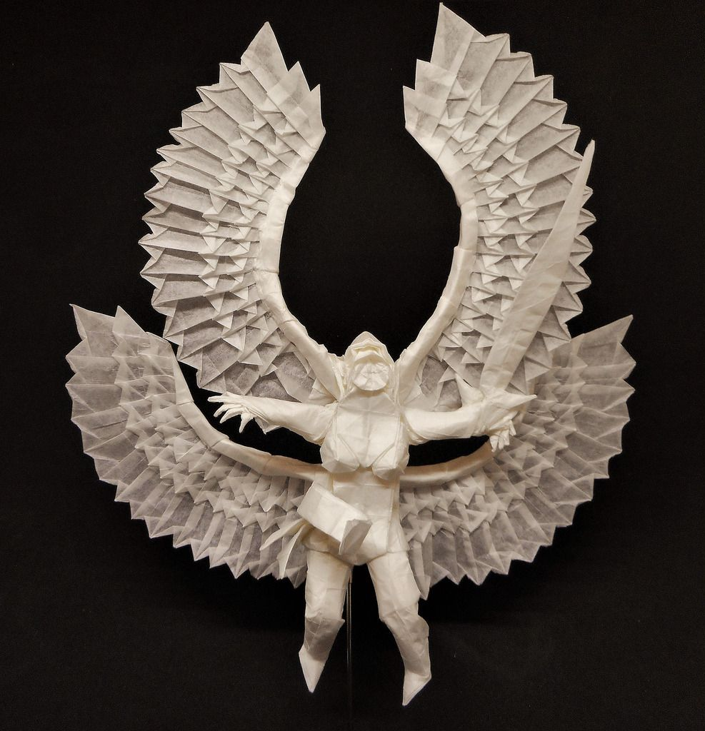 Origami valkyrie by bartslayer origami pinterest origami origami valkyrie by bartslayer jeuxipadfo Image collections