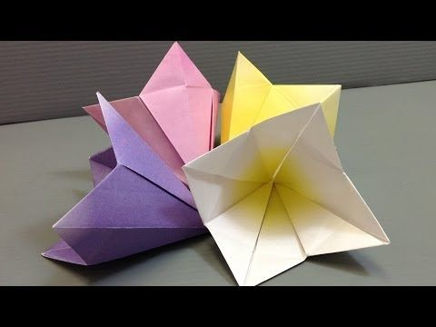 Make your own origami bell flowers print at home youtube make your own origami bell flowers print at home youtube mightylinksfo