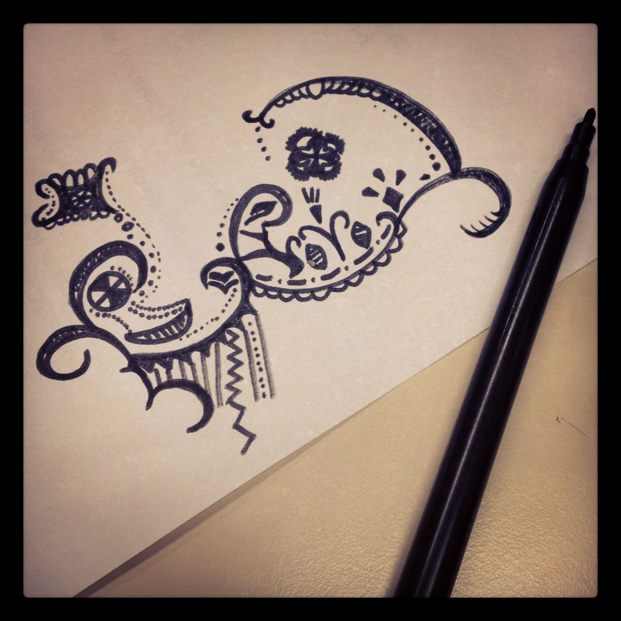 Keep drawing when i have nothing to do :p