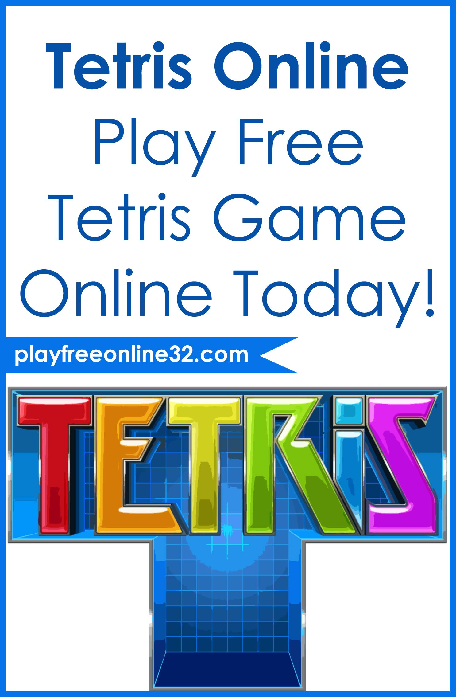 русский тетрис играть онлайн бесплатно