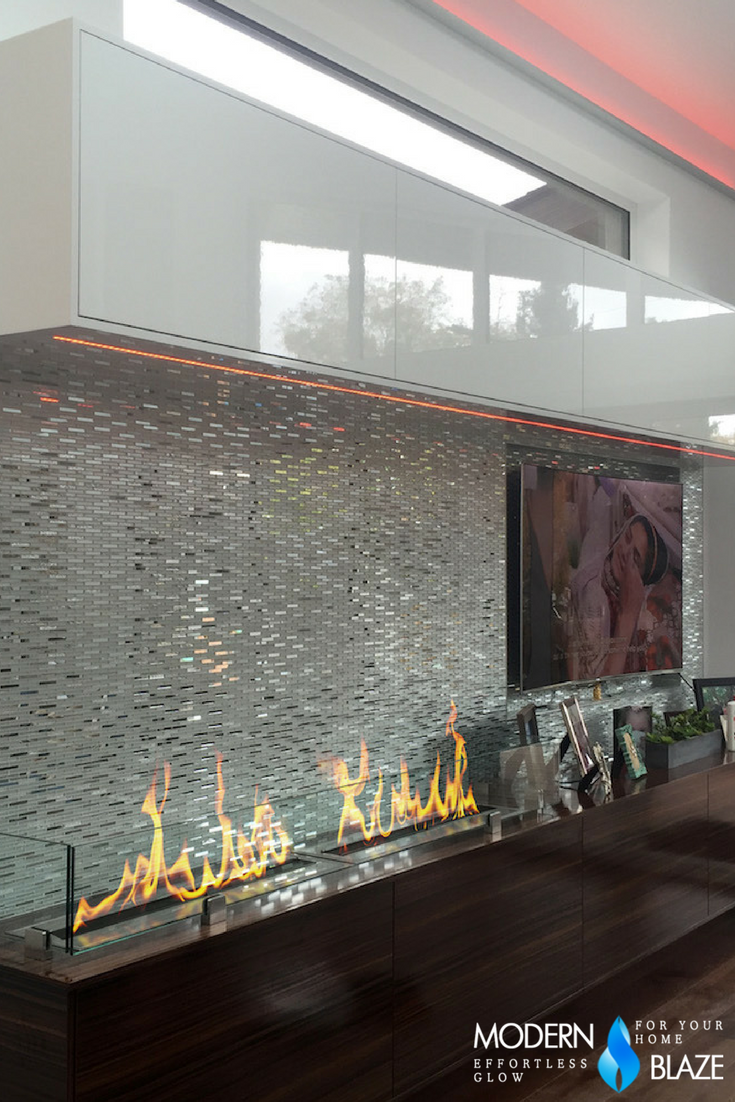 The Bio Flame 38 Ul Listed Ethanol Fireplace Burner Indoor Outdoor