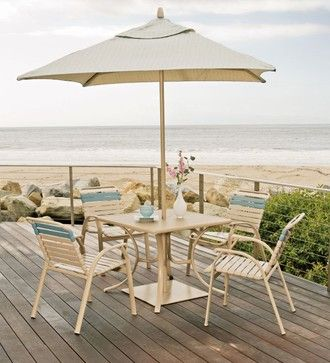 Telescope Casual Cape May Strap Stacking Armchair Patio Furniture And  Outdoor Furniture