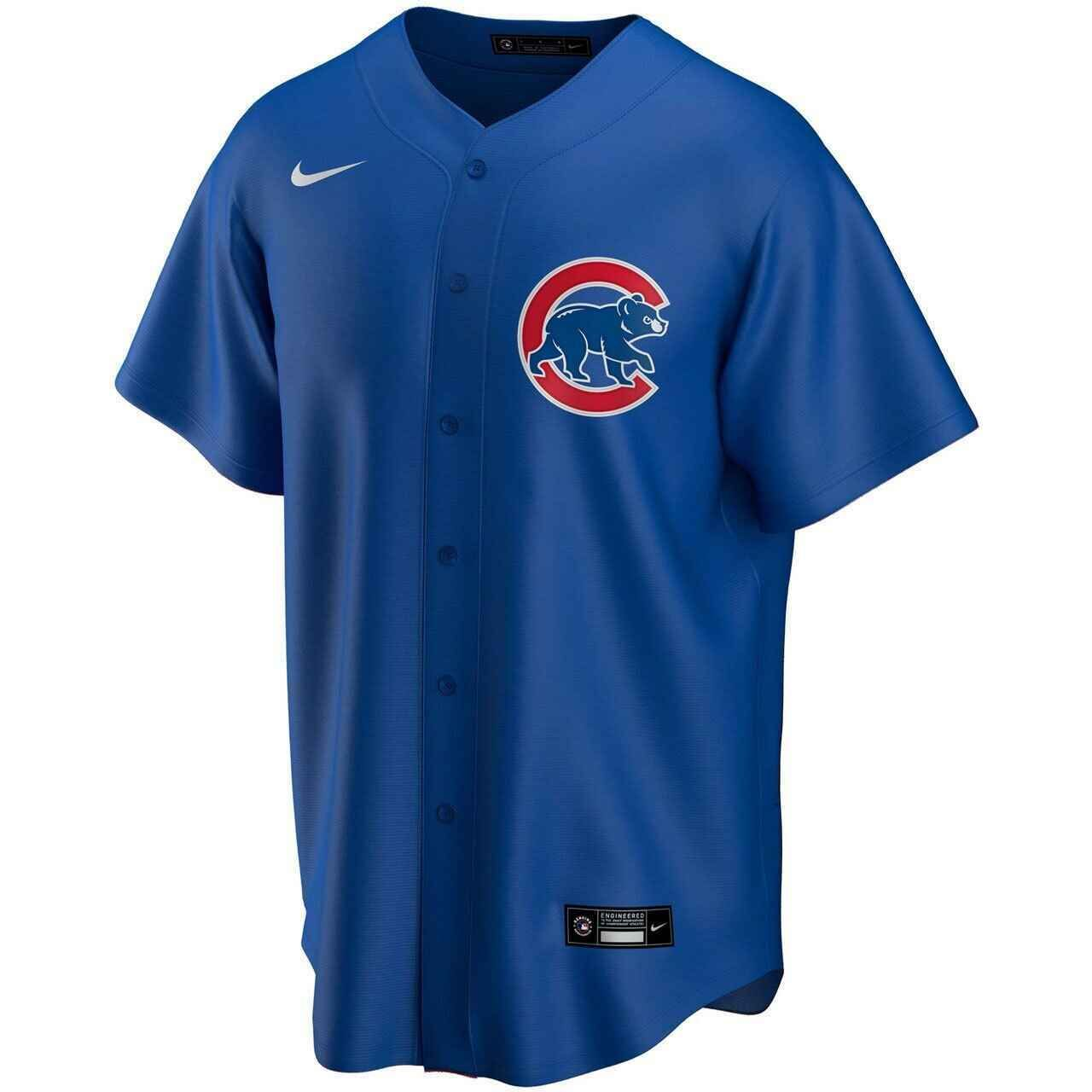 Photo of Brad Wieck Chicago Cubs Alternate 2020 Jersey by Nike