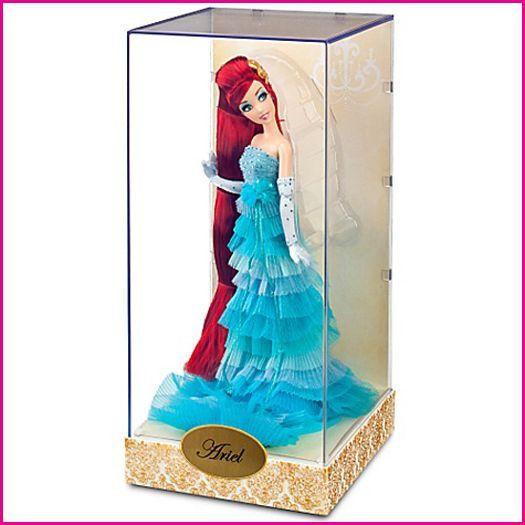 Ariel Disney Designer Doll Collection Princess The Little Mermaid NIB RARE W/Bag