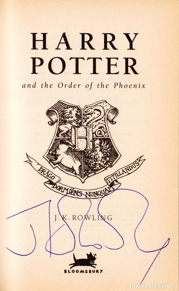 Harry Potter And The Order Of The Phoenix J K Rowling 1st