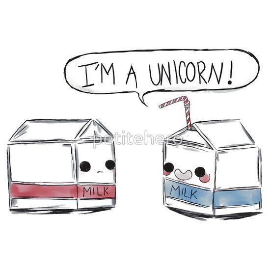 Unicorn Milk | Pullover Hoo | Unicorns and Drawings