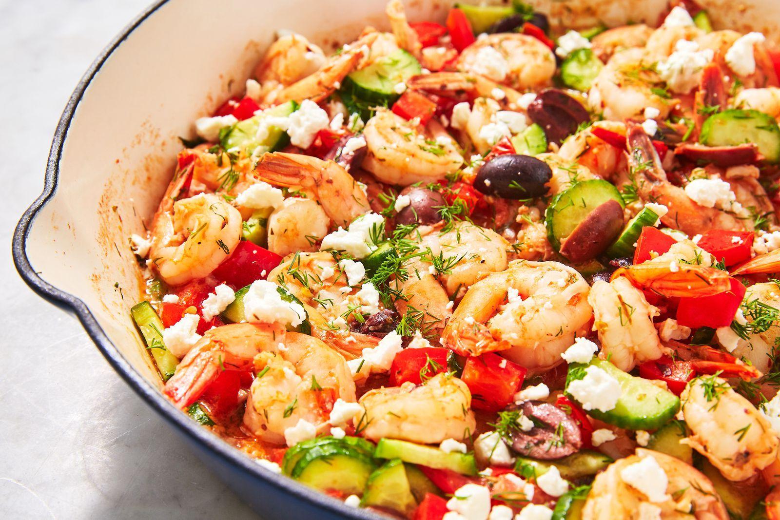 Greek Shrimp images