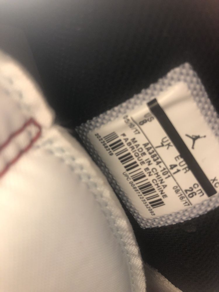 b562e3e03753 off white jordan 1 chicago size 8.5  fashion  clothing  shoes  accessories   mensshoes  athleticshoes (ebay link)