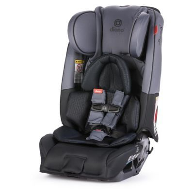 diono radian 3 rxt all in one convertible car seat in grey dark rh pinterest com