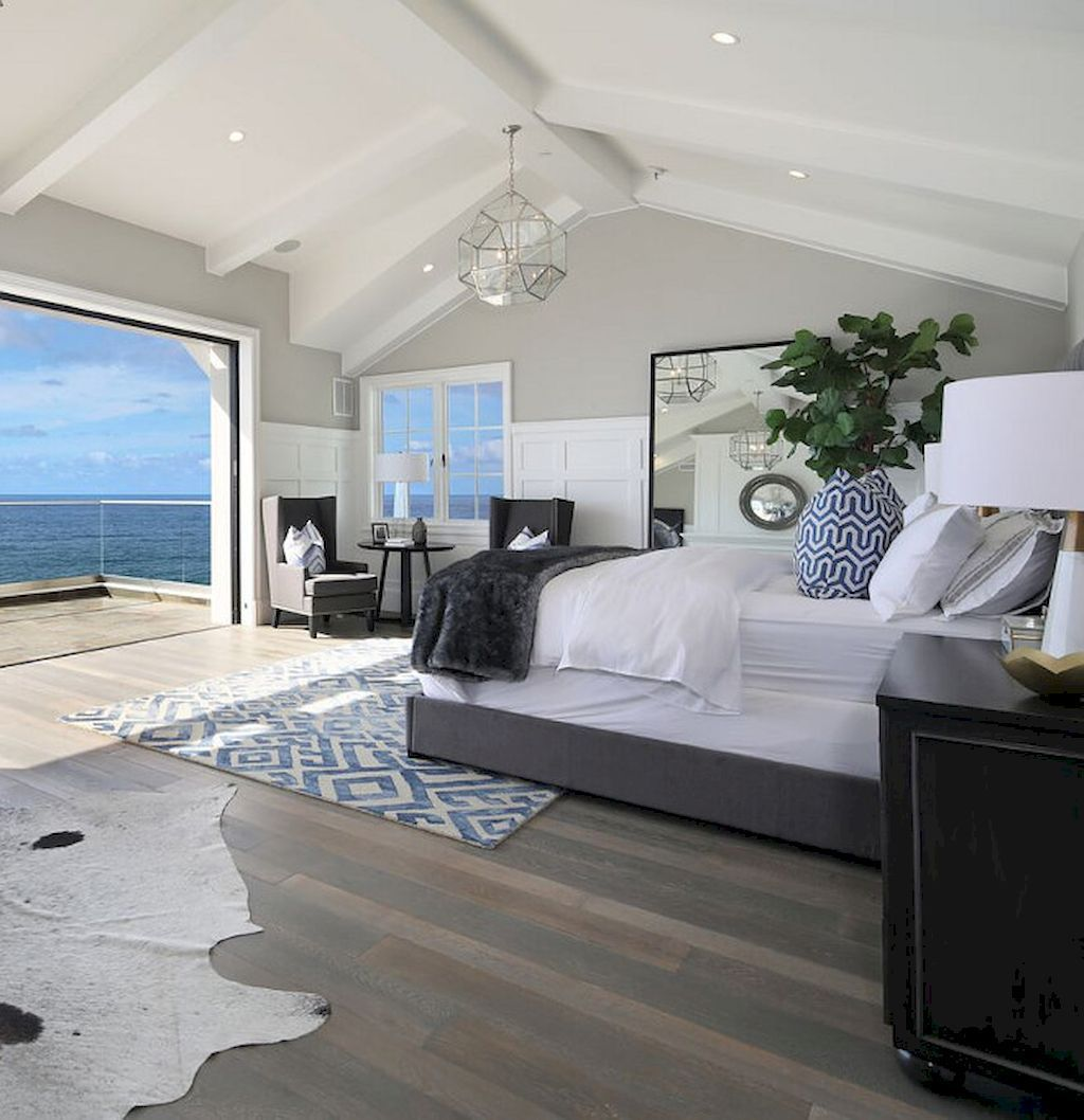 Modern Coastal Master Bedroom Decorating Ideas 20 Beach House Interior Design Modern Beach House Beach House Interior