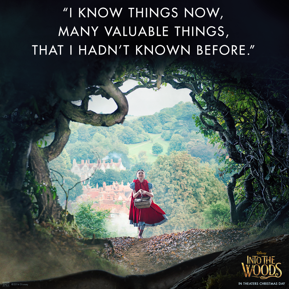 Lilla Crawford is Little Red in Into The Woods! In theaters ...