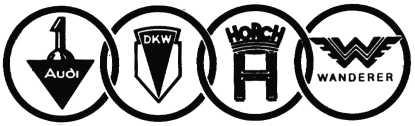 Logo Auto Union Ag 1932 Likes Car Logos Logos Cars