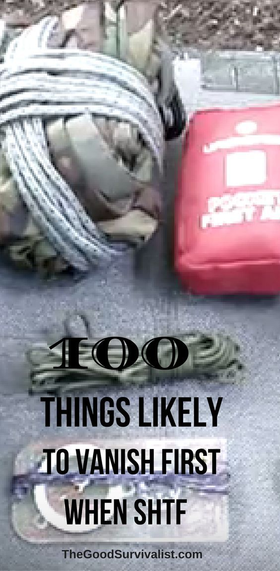 There are a lot of non food items that will be in short supply should the worst happen. Click the link to learn what they are.  http://www.thegoodsurvivalist.com/100-things-likely-to-vanish-first-if-shtf/