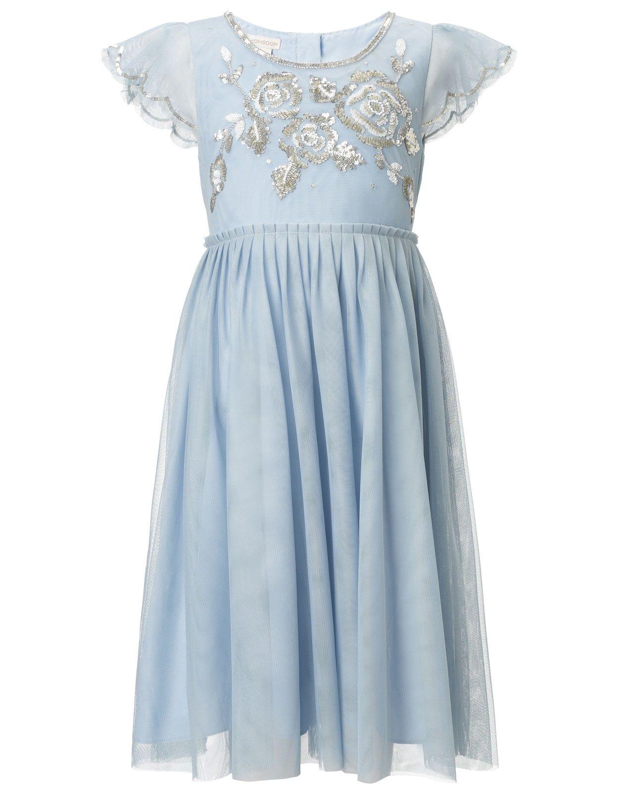 Ava rose dress blue monsoon wedding pinterest rose dress