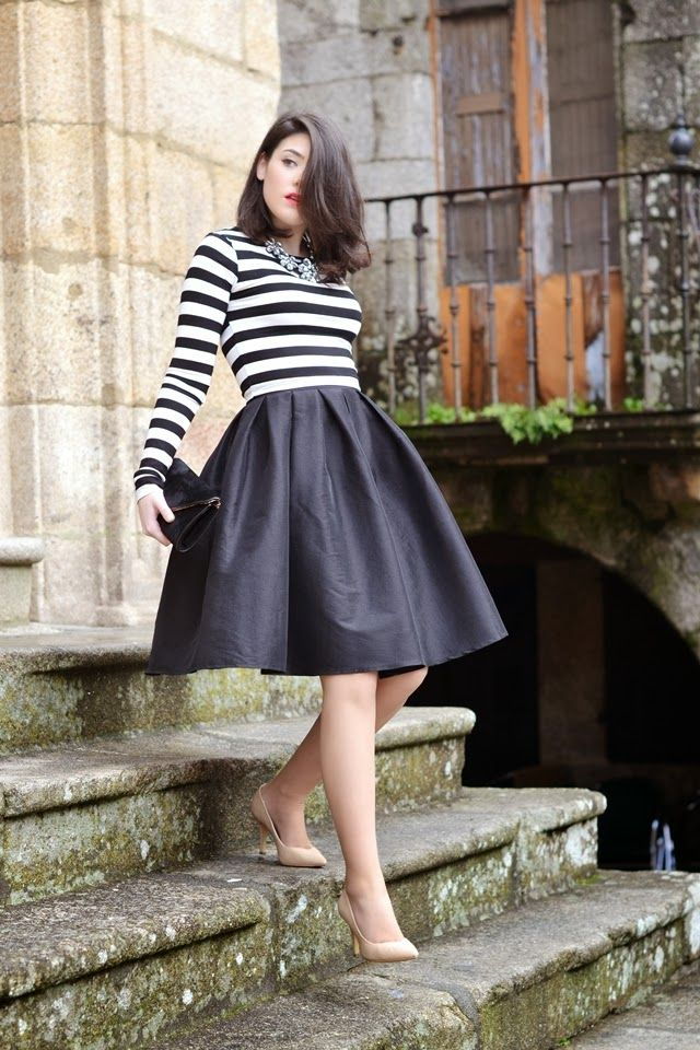 Black Midi Skirt  1b5c65efb75b